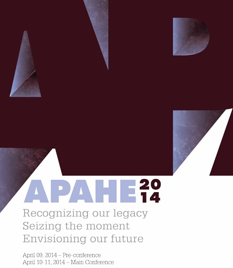 CALL FOR PROGRAMS AND POSTERS FOR APAHE 2014 CONFERENCE NOW OPEN