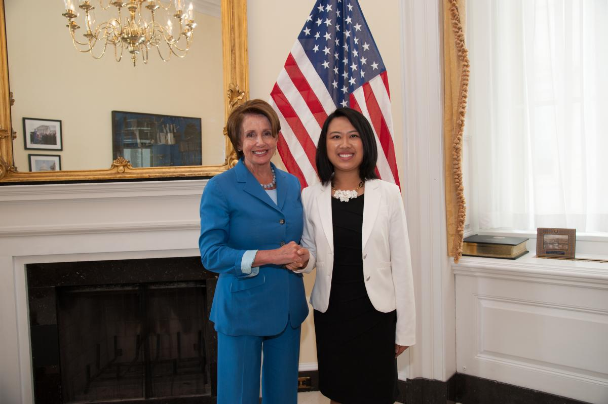 INTERNING WITH DEMOCRATIC LEADER NANCY PELOSI