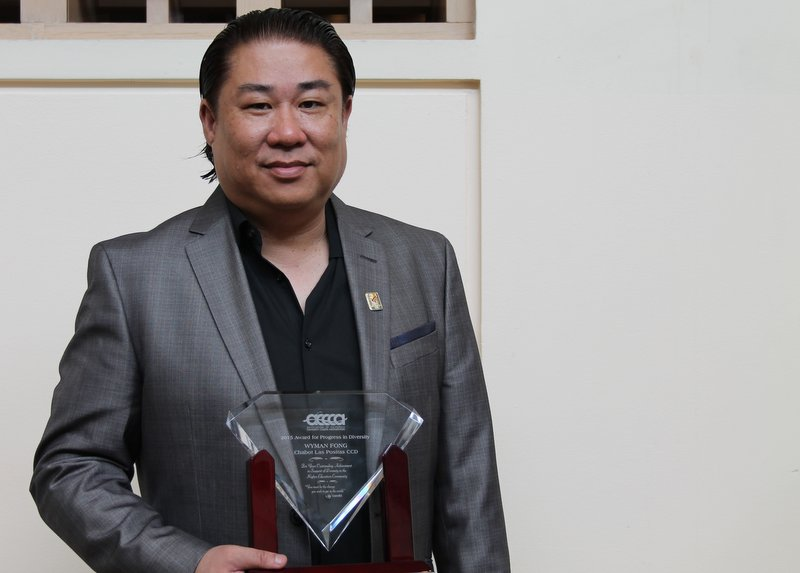 FORMER APAHE BOARD PRESIDENT RECEIVES STATEWIDE AWARD FOR PROGRESS TO DIVERSITY