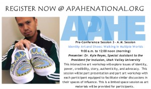 KYLE REYES RETURNS FOR APAHE PRE-CONFERENCE & CONFERENCE WORKSHOPS