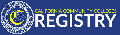 California Community Colleges Registry – Job Opportunities!