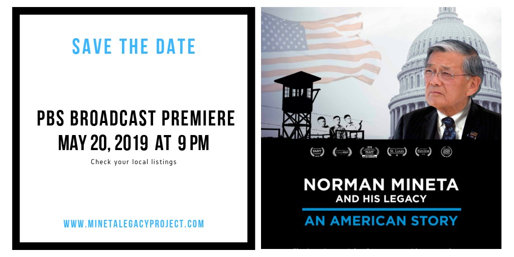 Save The Date: PBS Broadcasting Premiere, May 20, 2019 at 9pm (PST)
