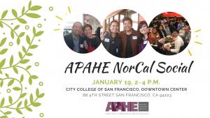 APAHE NorCal Social