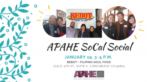 APAHE SoCal Social