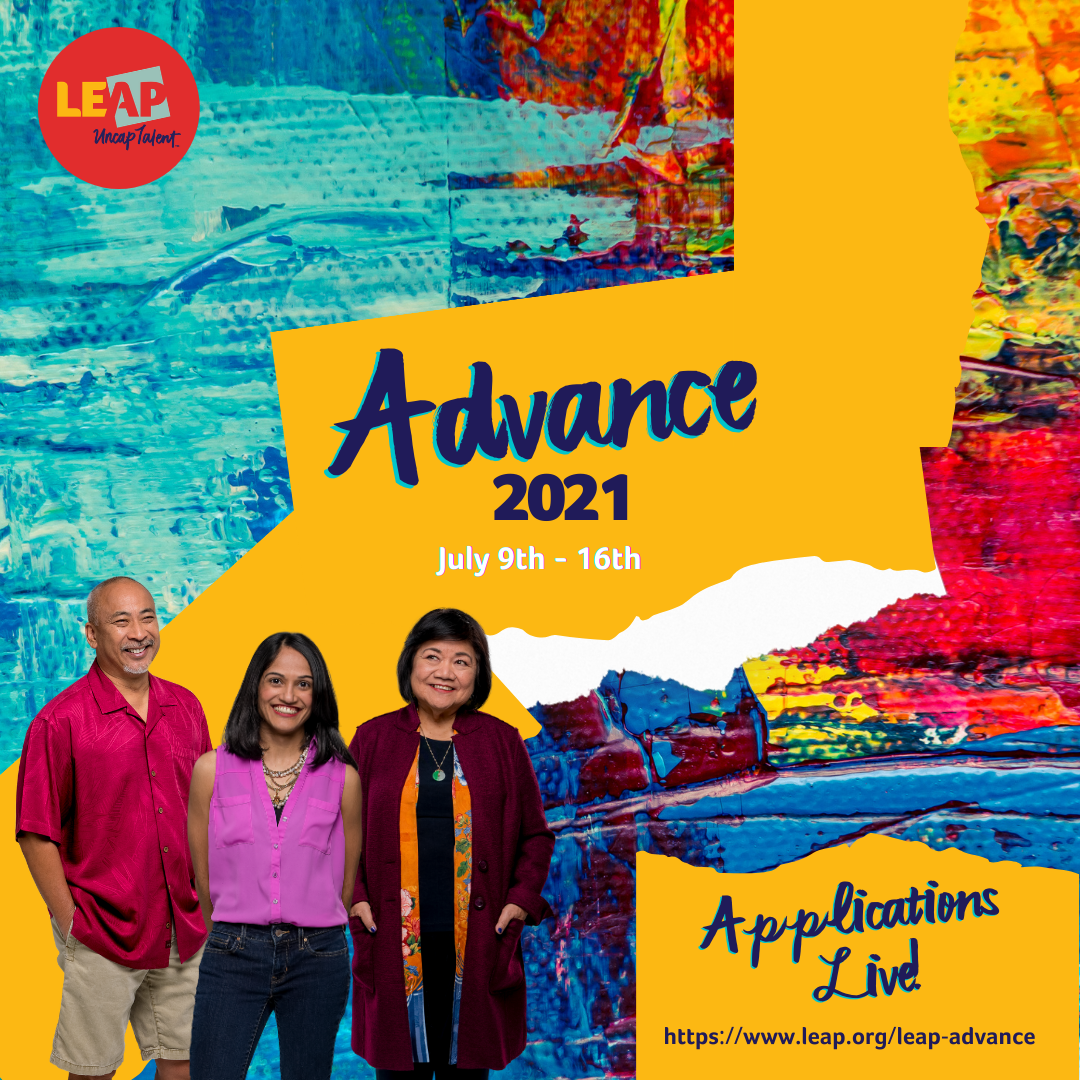 2021 LEAP Advance Applications are open!